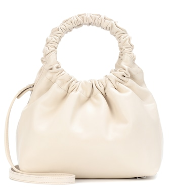 The Row - Double Circle Small leather shoulder bag - mytheresa.com