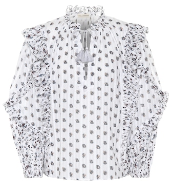 Ulla Johnson - Kati printed cotton blouse - mytheresa.com