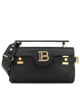 Balmain - B-Buzz 26 leather shoulder bag - mytheresa.com