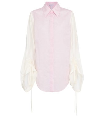 Loewe - Wool and cotton shirt - mytheresa.com