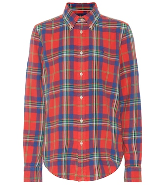Polo Ralph Lauren - Plaid cotton shirt - mytheresa.com