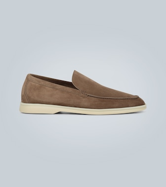 Loro Piana - Veloursleder-Loafers Summer Walk - mytheresa.com