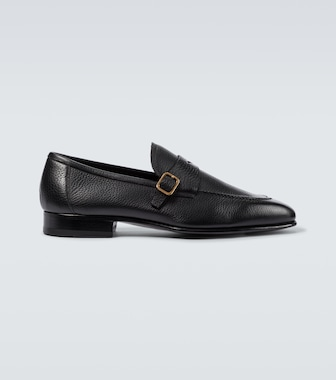 Tom Ford - Loafers New York Chain aus Leder - mytheresa.com