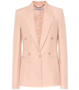 Stella McCartney - Wool blend blazer - mytheresa.com