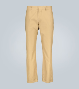 Marni - Compact cotton twill pants - mytheresa.com