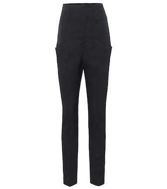 Isabel Marant - Padme high-rise wool pants - mytheresa.com