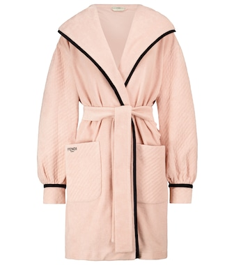 Fendi - Cotton terry robe - mytheresa.com