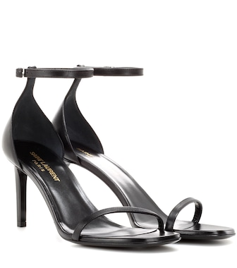 Saint Laurent - Jane 80 leather sandals - mytheresa.com