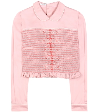 Miu Miu - Cotton top - mytheresa.com