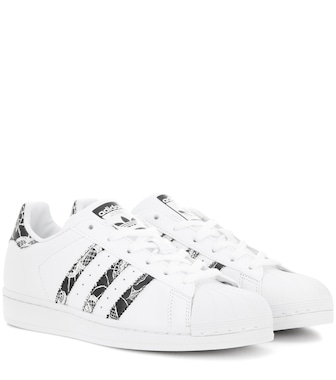 Adidas Originals - Superstar leather sneakers - mytheresa.com