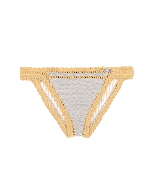She Made Me - Sana crocheted bikini bottoms - mytheresa.com