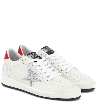 Golden Goose Deluxe Brand - Ball Star leather sneakers - mytheresa.com