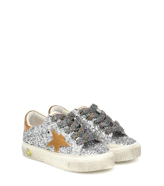 Golden Goose Kids - May glitter sneakers - mytheresa.com
