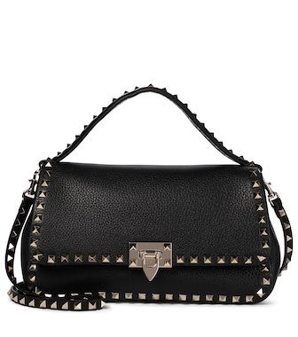 Valentino / Garavani - Valentino Garavani Rockstud Medium leather shoulder bag - mytheresa.com