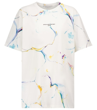 Stella McCartney - T-shirt a stampa in cotone - mytheresa.com