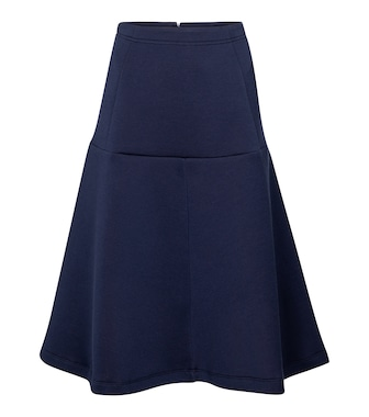 Marni - Flounce cotton-blend midi skirt - mytheresa.com
