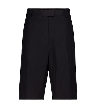 Dries Van Noten - Cotton-blend Bermuda shorts - mytheresa.com