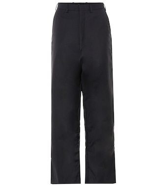 Vetements - X Brioni wool cropped trousers - mytheresa.com