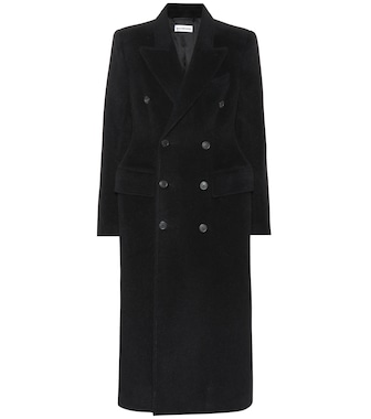 Balenciaga - Wool and alpaca coat - mytheresa.com