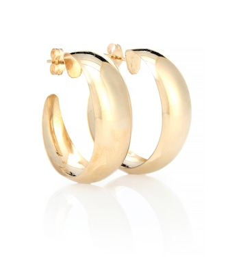 Loren Stewart - Dome Hoops 10kt gold earrings - mytheresa.com