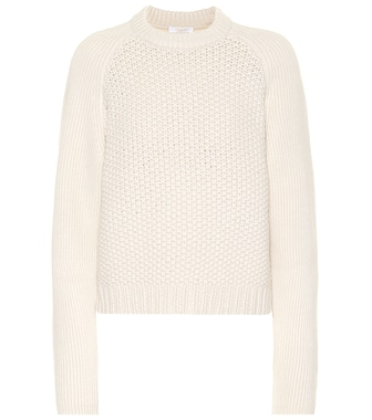 Chloé - Wool and cashmere sweater - mytheresa.com