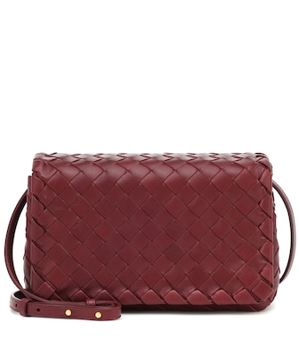 Bottega Veneta - Olimpia leather shoulder bag - mytheresa.com