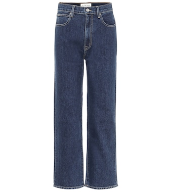 Slvrlake - London high-rise cropped jeans - mytheresa.com