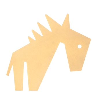 Stella McCartney - Horse brass brooch - mytheresa.com