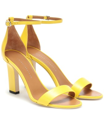 Victoria Beckham - Anna leather pumps - mytheresa.com