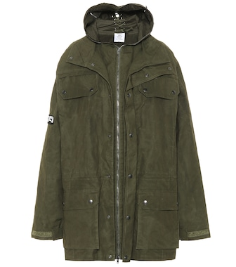 Vetements - Waxed cotton parka - mytheresa.com