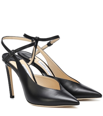 Jimmy Choo - Sakeya 100 leather pumps - mytheresa.com