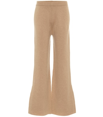 Joseph - High-rise wool-blend flared pants - mytheresa.com
