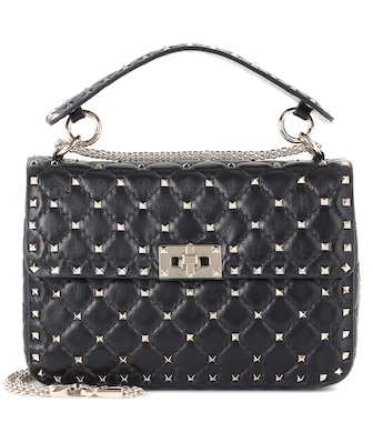 Valentino / Garavani - Valentino Garavani Rockstud Spike Medium leather shoulder bag - mytheresa.com