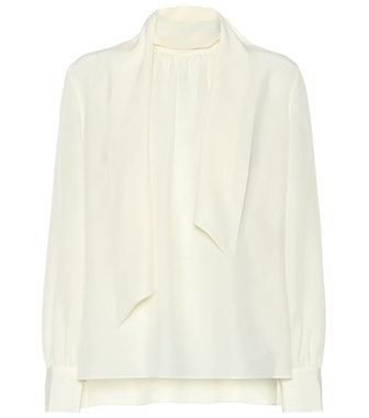 Fendi - Silk blouse - mytheresa.com