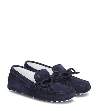 Tod's Junior - Gommino suede loafers - mytheresa.com
