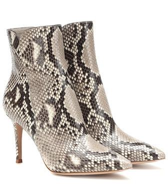 Gianvito Rossi - Ankle Boots Levy 85 - mytheresa.com