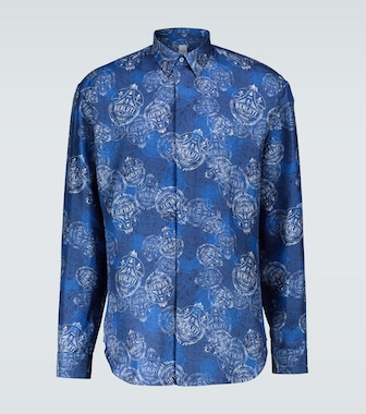 Berluti - Scritto long-sleeved shirt - mytheresa.com