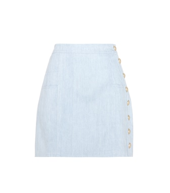 Balmain - Denim skirt - mytheresa.com