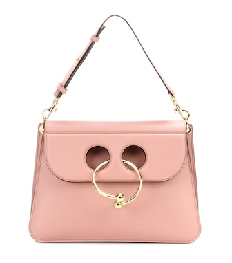 J.W.Anderson - Medium Pierce leather shoulder bag - mytheresa.com