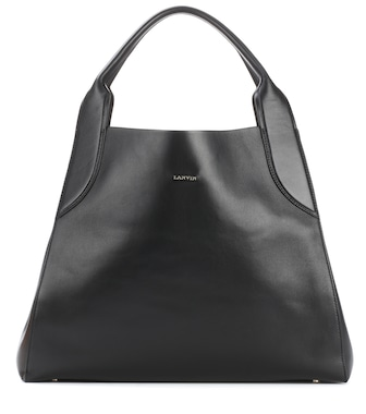 Lanvin - Medium Cabas leather shopper - mytheresa.com