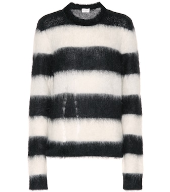 Saint Laurent - Mohair-blend sweater - mytheresa.com