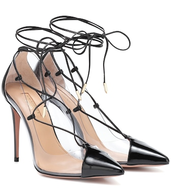 Aquazzura - Pumps Magic 105 aus Lackleder - mytheresa.com