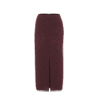 Roland Mouret - Booth wool-blend pencil skirt - mytheresa.com