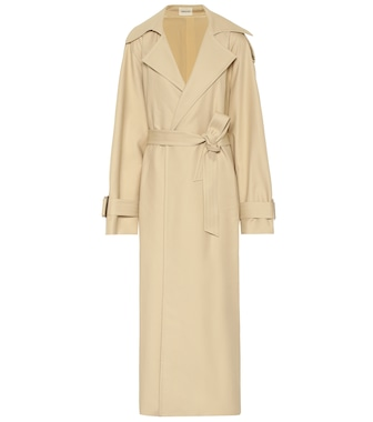 Khaite - Libby cotton twill trench coat - mytheresa.com