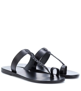 Ancient Greek Sandals - Pantoletten Melpomeni aus Leder - mytheresa.com