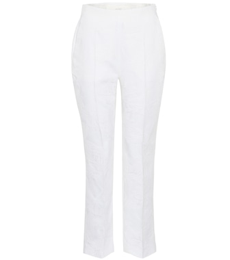 Delpozo - Cropped cotton trousers - mytheresa.com