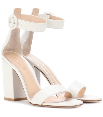 Gianvito Rossi - Versilia leather sandals - mytheresa.com