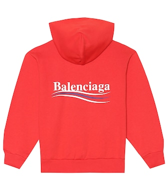 Balenciaga Kids - Cotton-blend hoodie - mytheresa.com