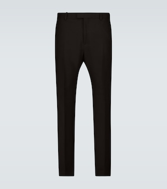 Bottega Veneta - Slim-fit flared formal pants - mytheresa.com