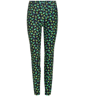 Prada - Printed cotton trousers - mytheresa.com